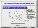 fiscal policy activity and the interest rate15