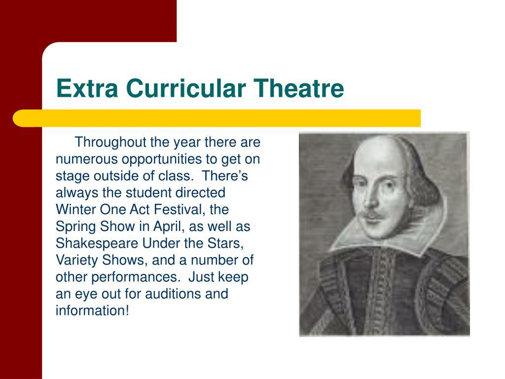 Extra Curricular Theatre