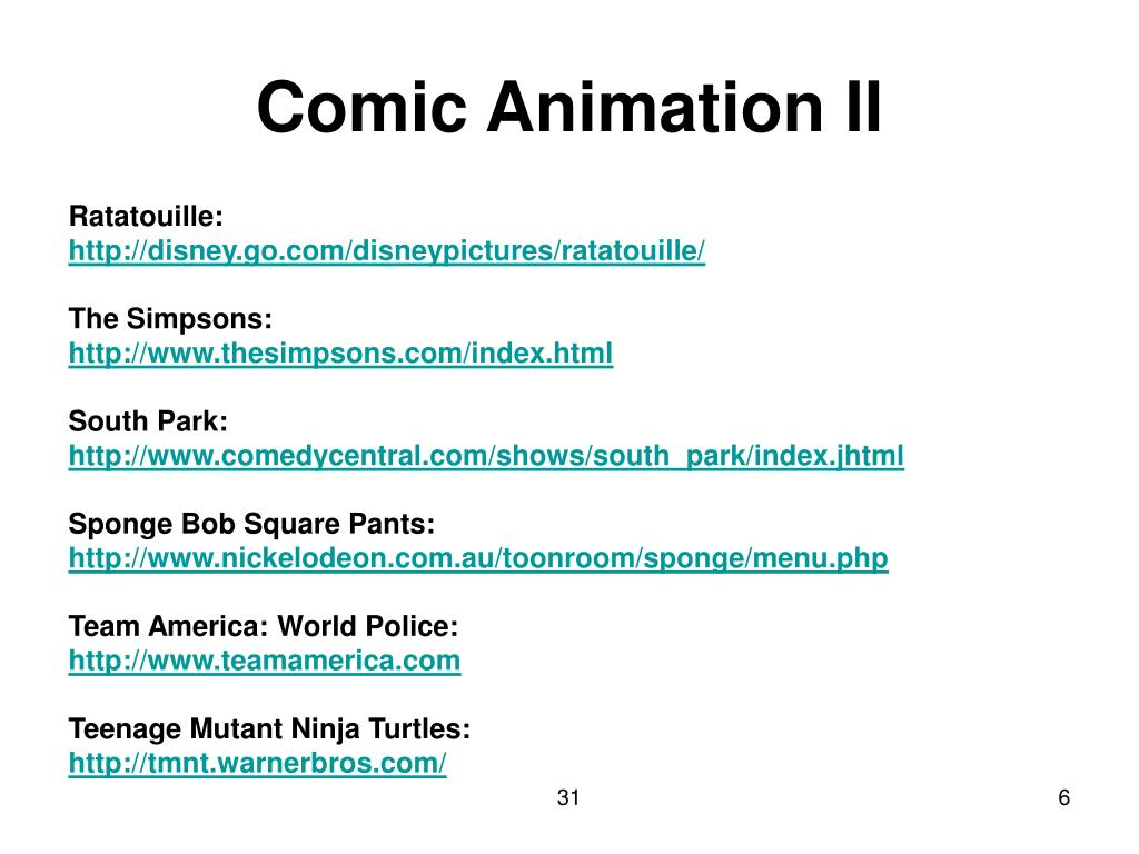 Comic Animation II