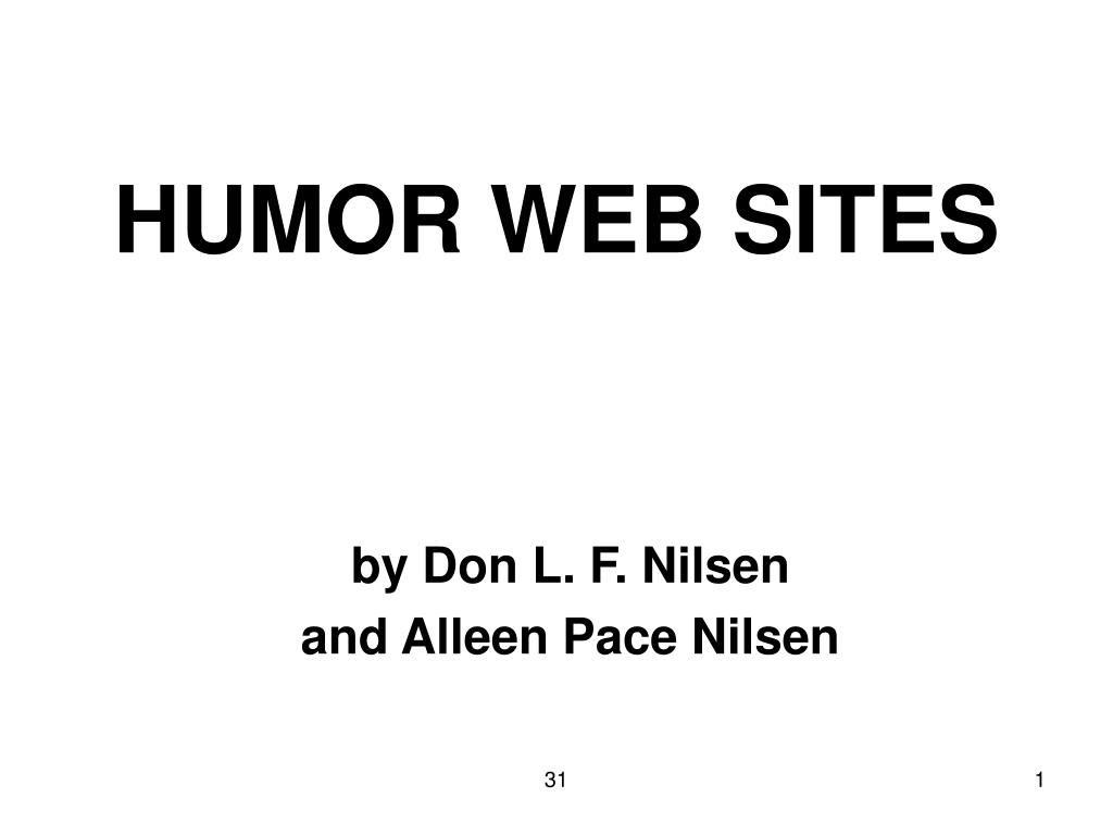 HUMOR WEB SITES