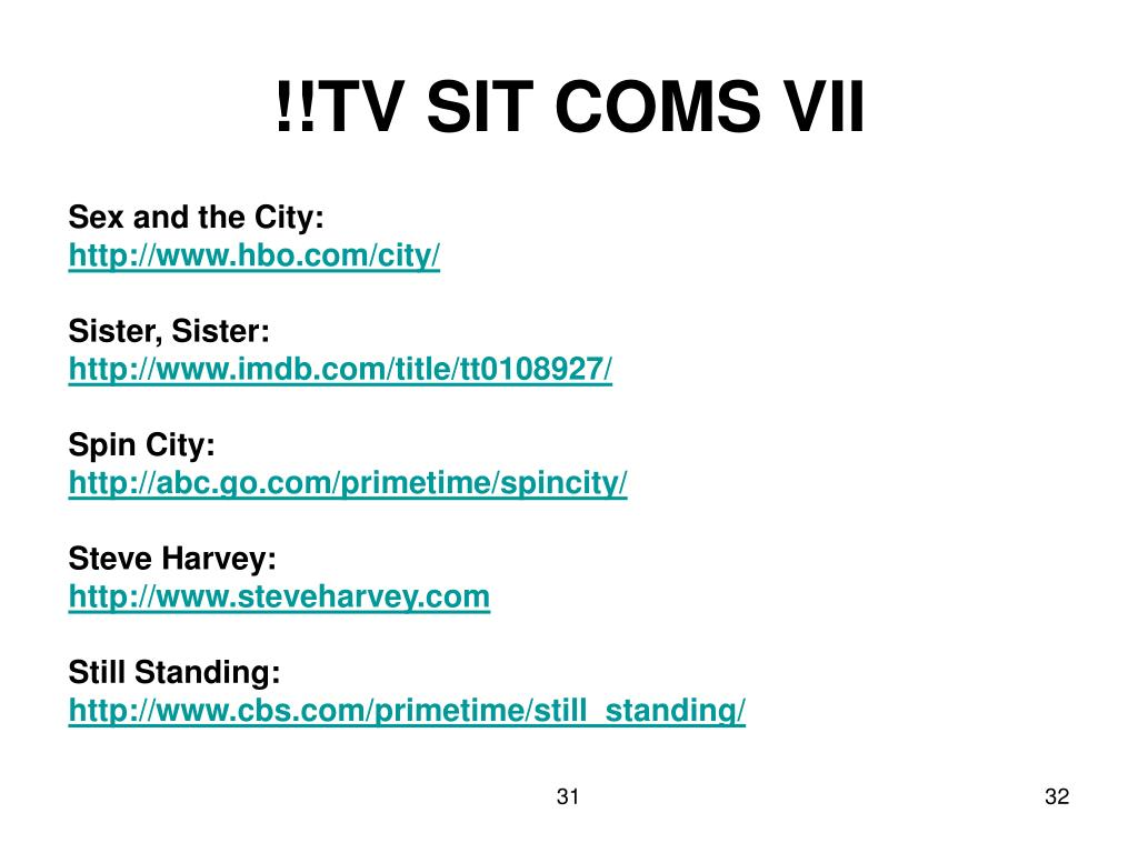!!TV SIT COMS VII
