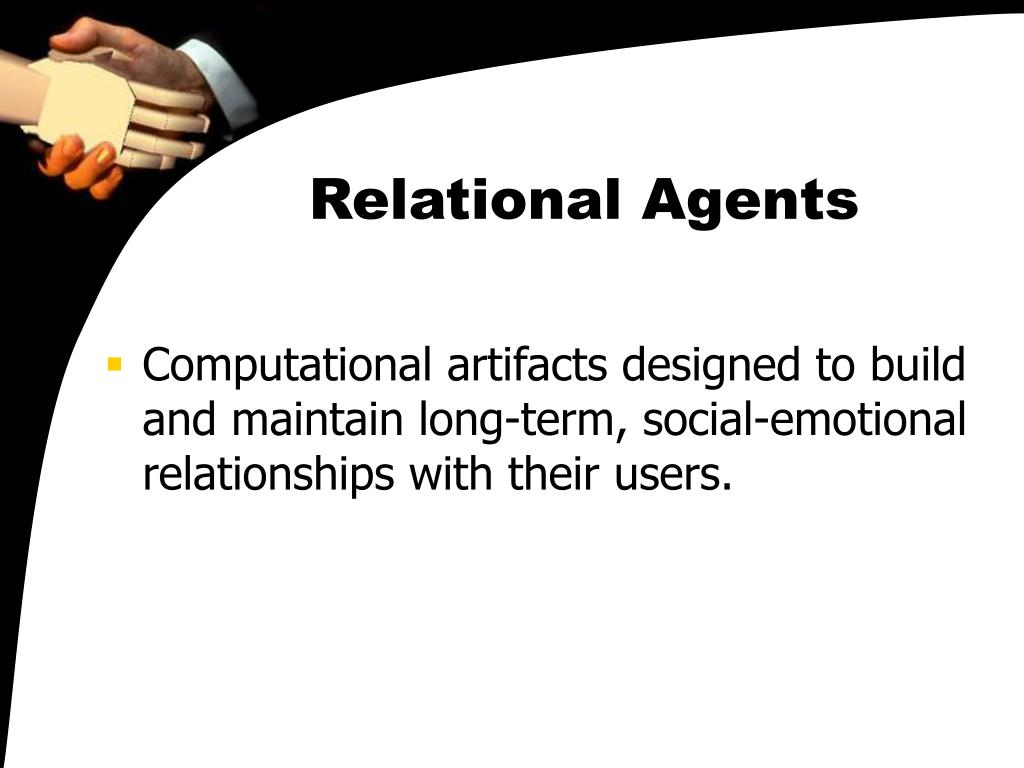 Relational Agents