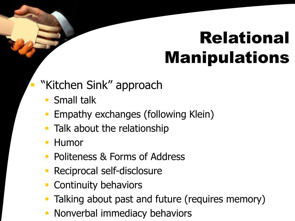 Relational Manipulations