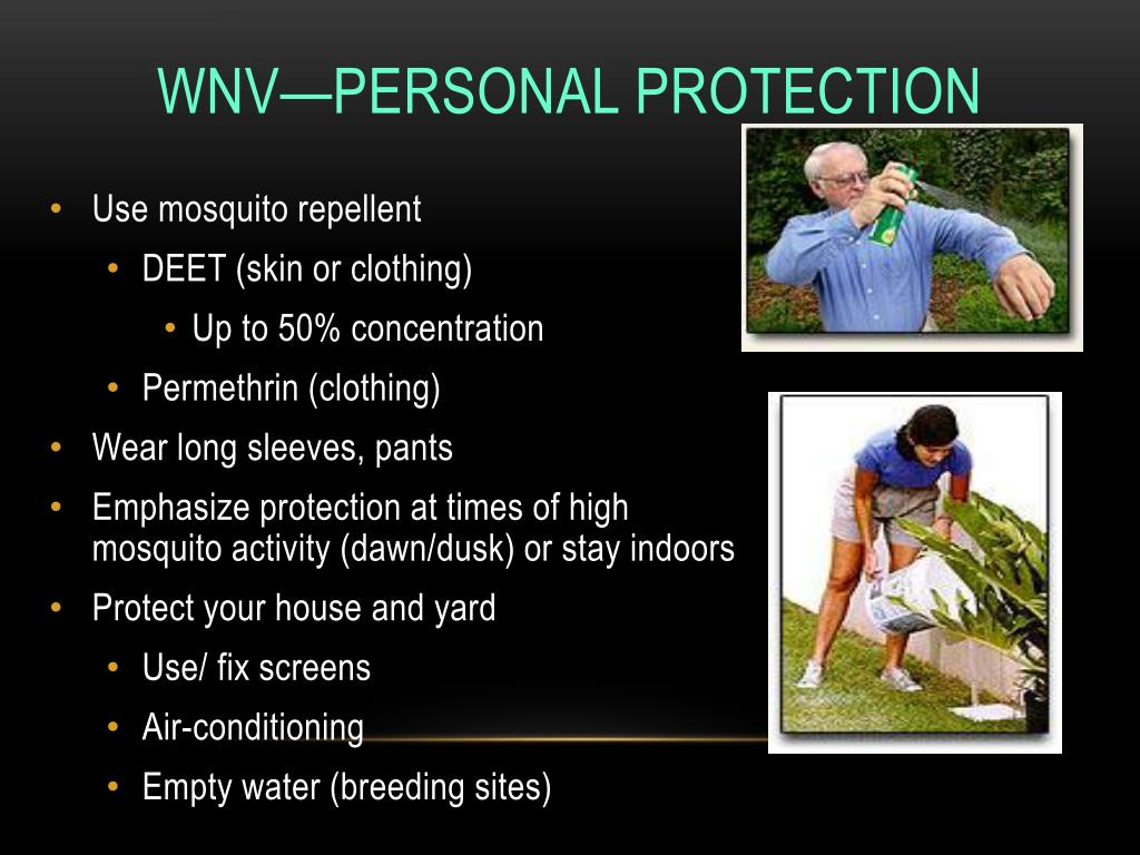 WNV—Personal Protection
