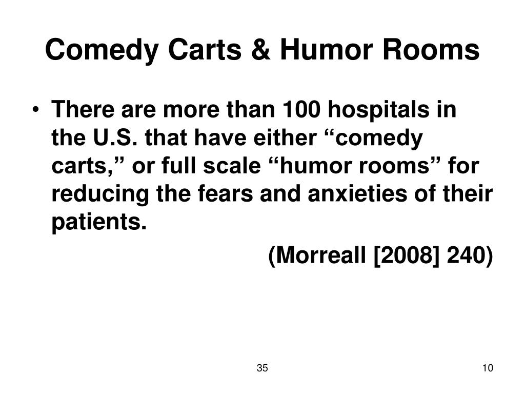 Comedy Carts & Humor Rooms