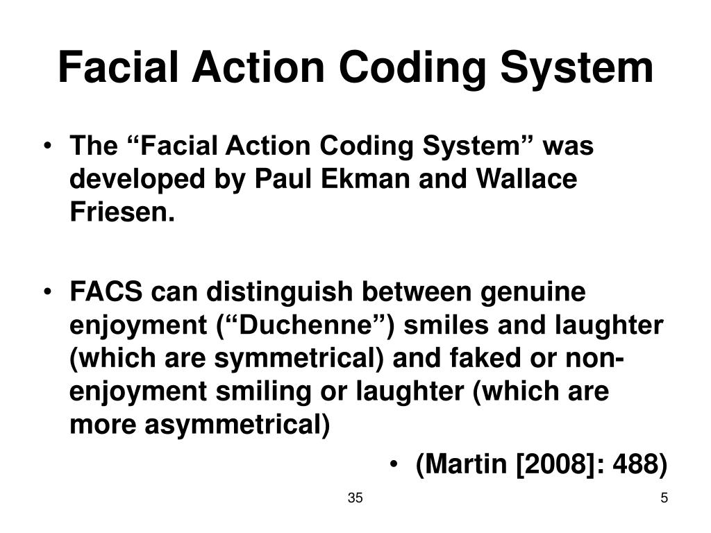 Facial Action Coding System