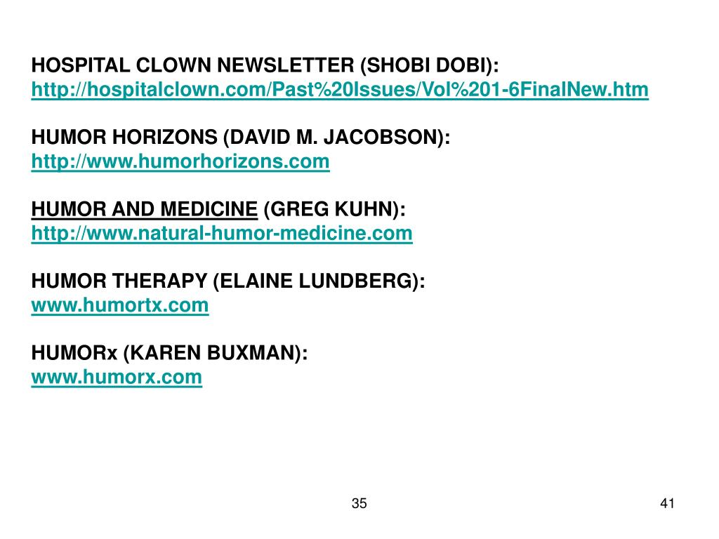 HOSPITAL CLOWN NEWSLETTER (SHOBI DOBI):