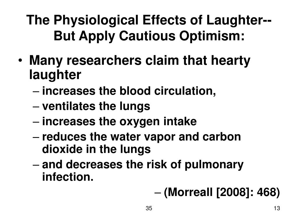 The Physiological Effects of Laughter--