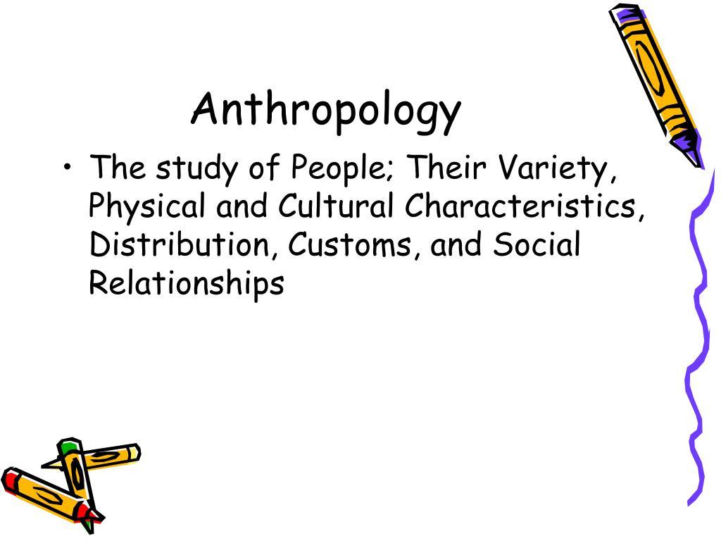 Anthropology of Religion - Hartford Seminary