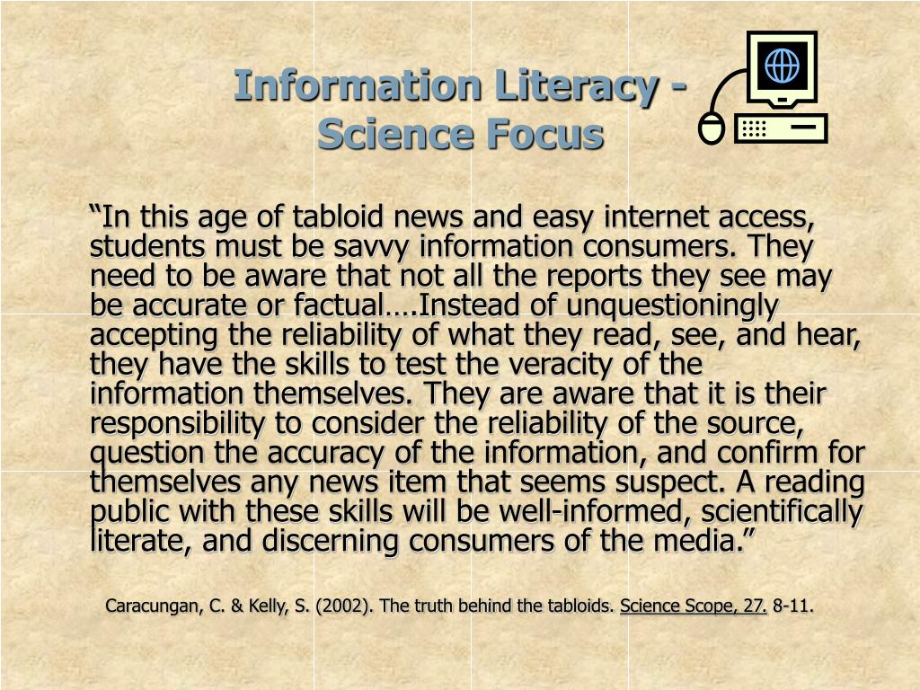 Information Literacy -