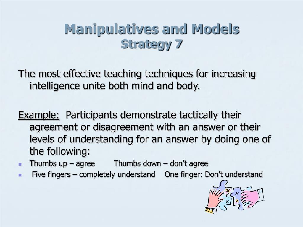 Manipulatives and Models