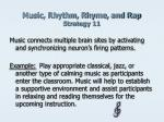 music rhythm rhyme and rap strategy 11
