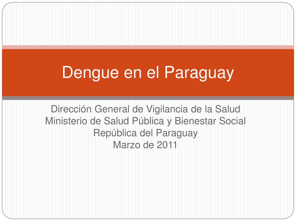 Dengue en el Paraguay