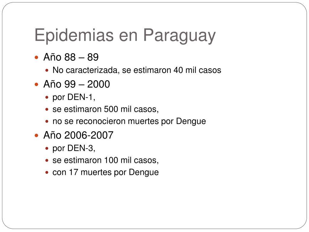 Epidemias en Paraguay