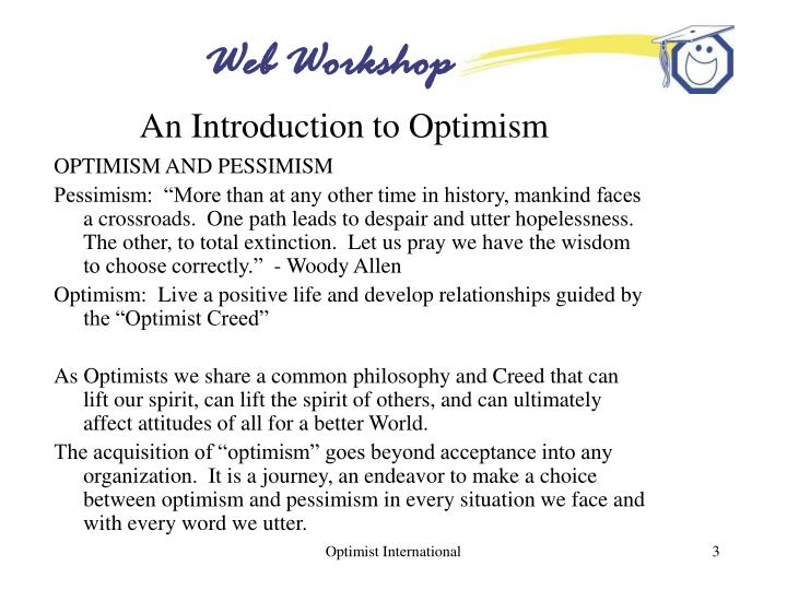An introduction to optimism