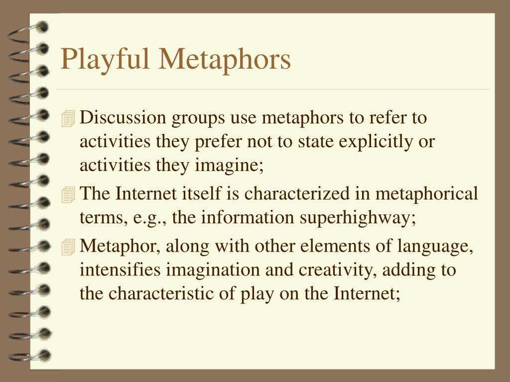 Playful Metaphors