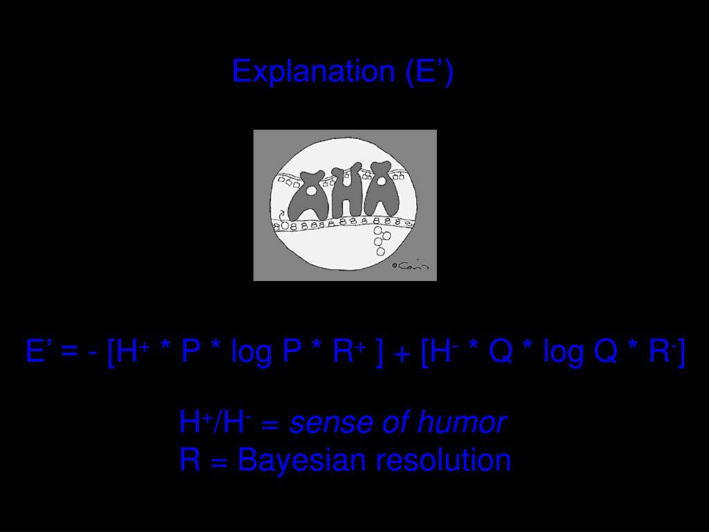 Explanation (E')