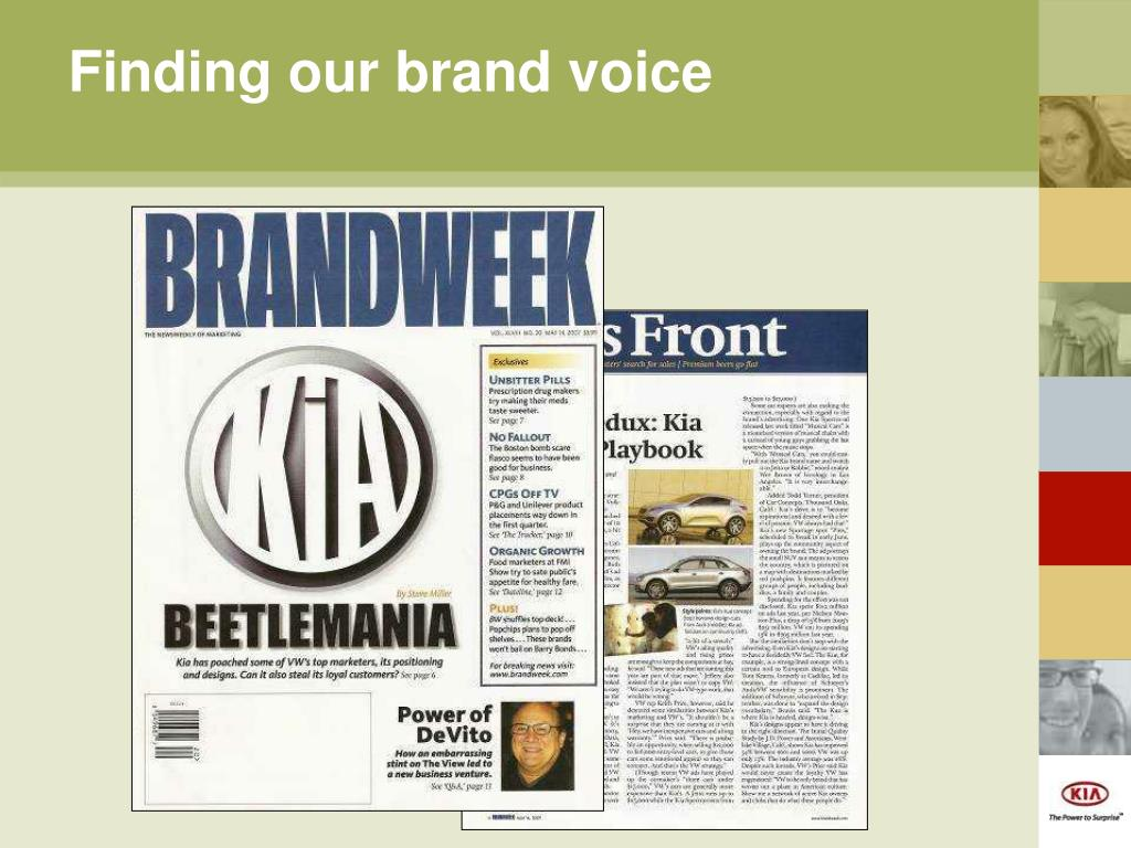 Finding our brand voice