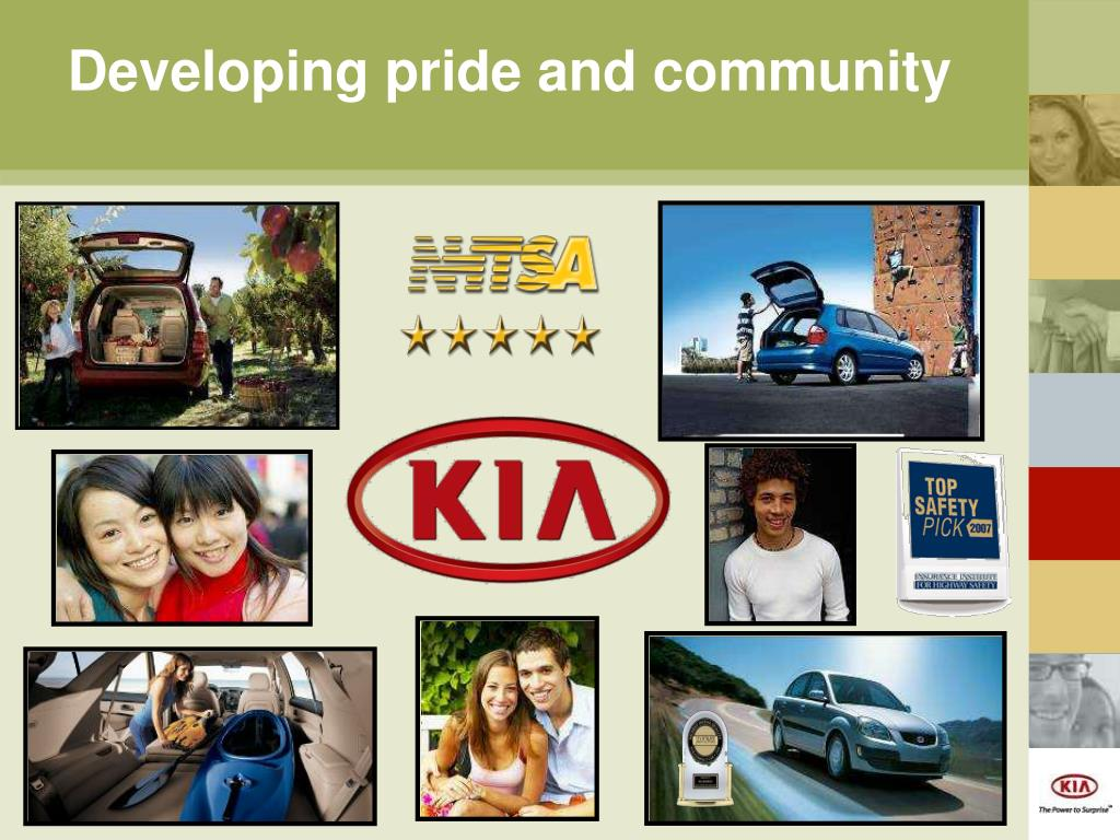 Developing pride and community