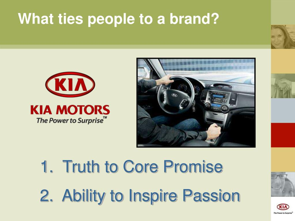What ties people to a brand?