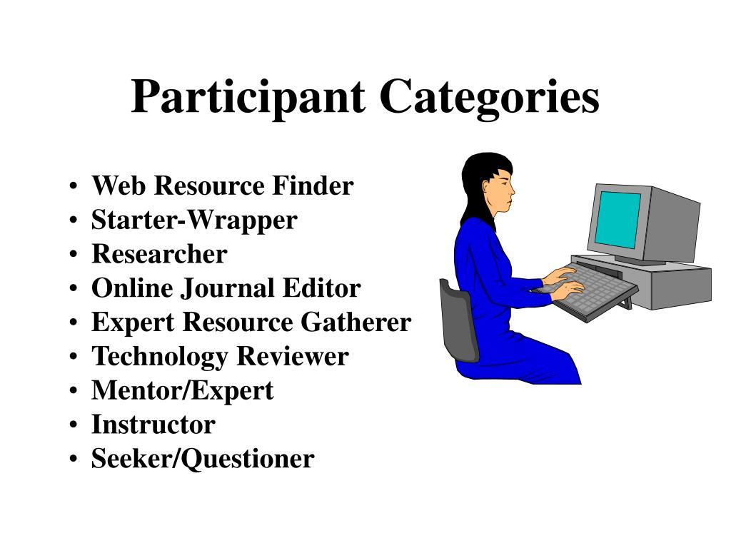 Participant Categories