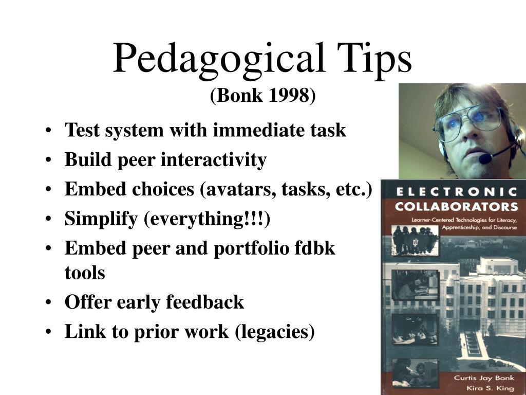 Pedagogical Tips