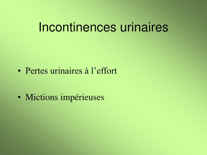 Incontinences urinaires2