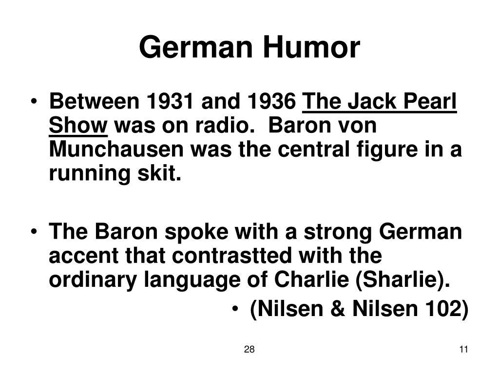 German Humor