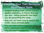 creating your own sermons illustration team4