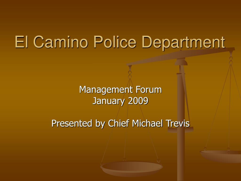 El Camino Police Department