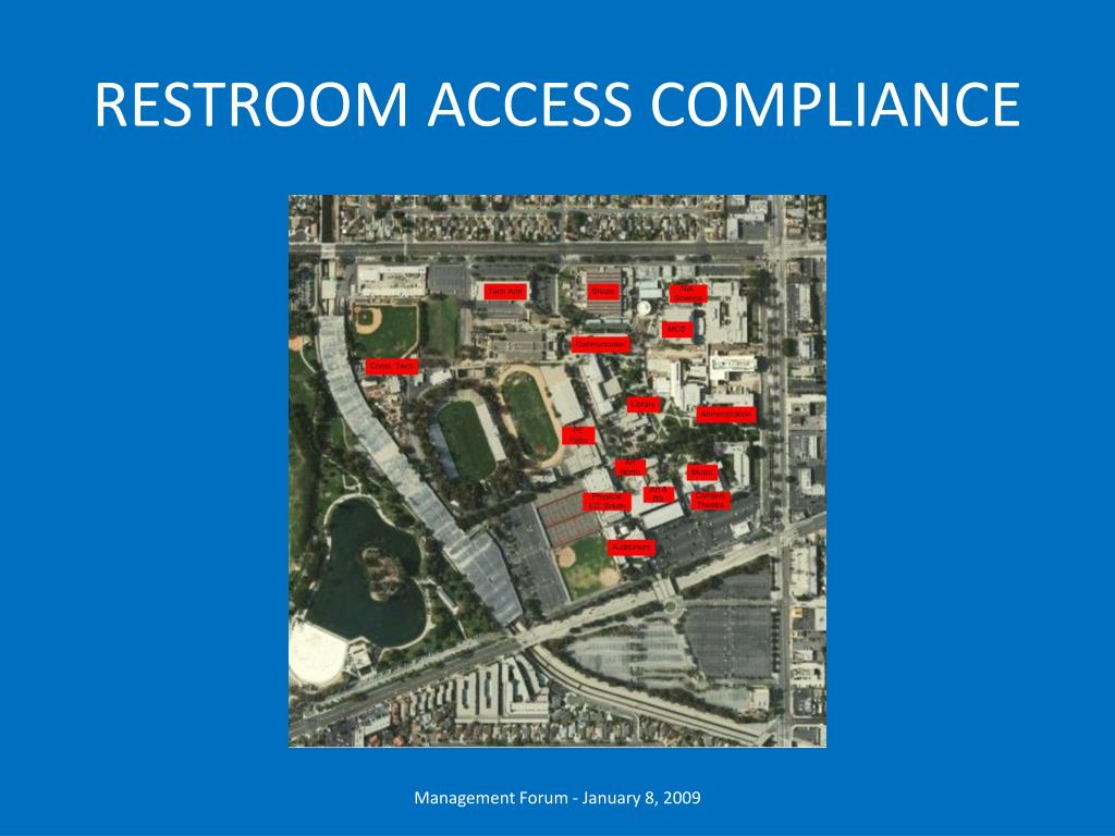 RESTROOM ACCESS COMPLIANCE