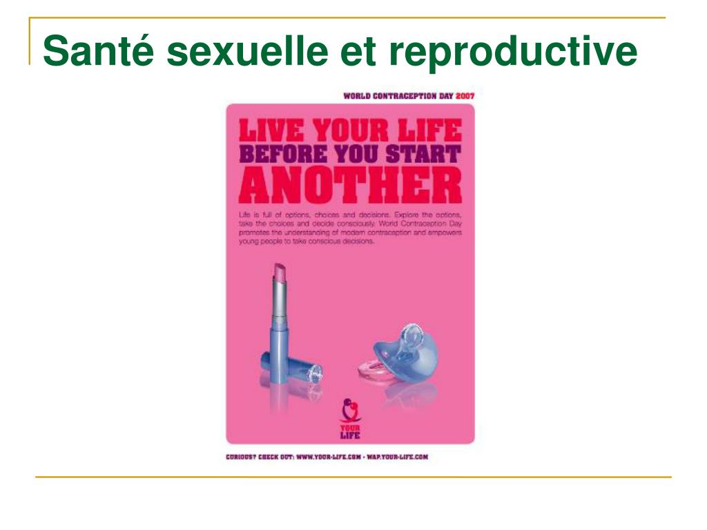 Santé sexuelle et reproductive