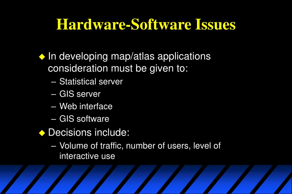 Hardware-Software Issues