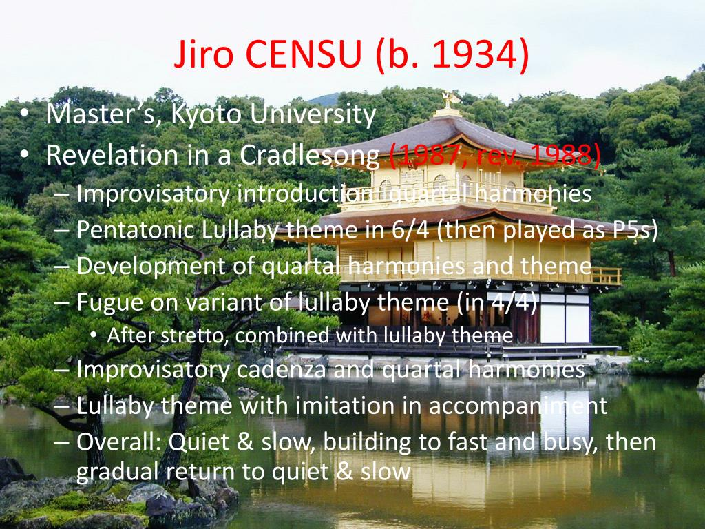Jiro CENSU (b. 1934)