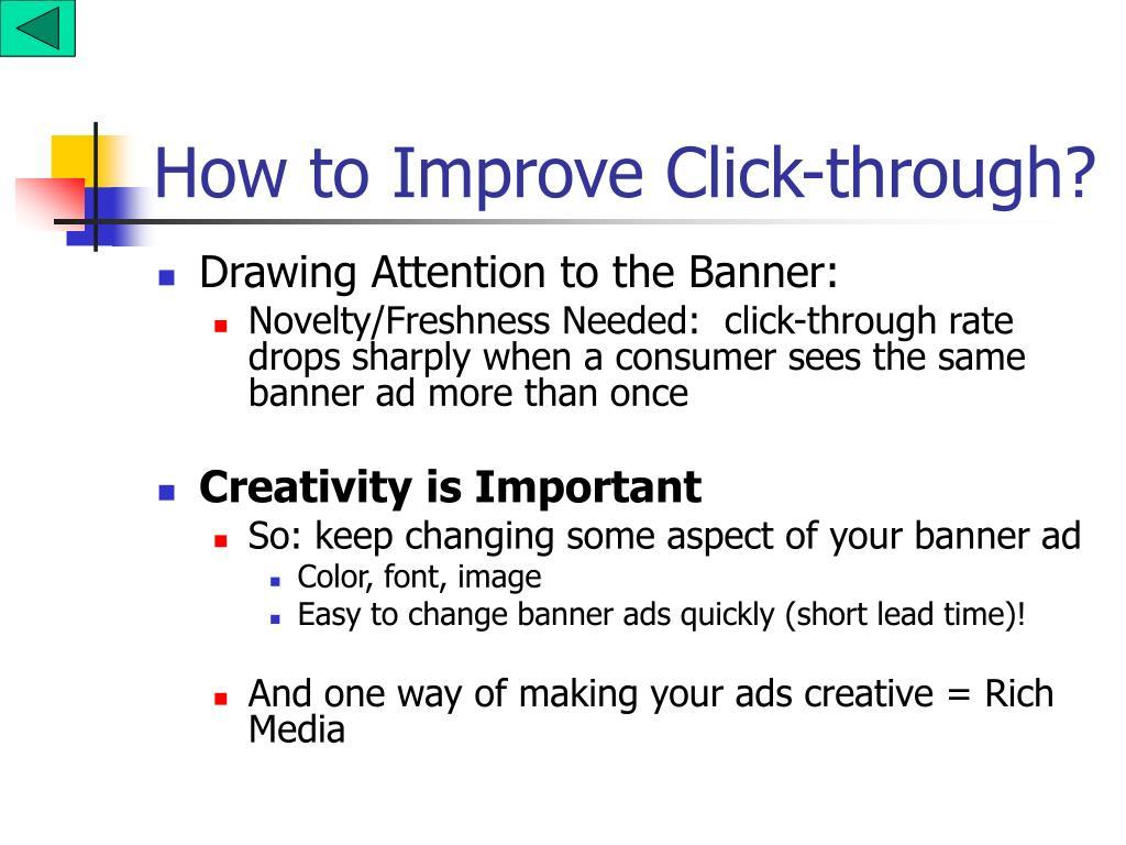 How to Improve Click-through?