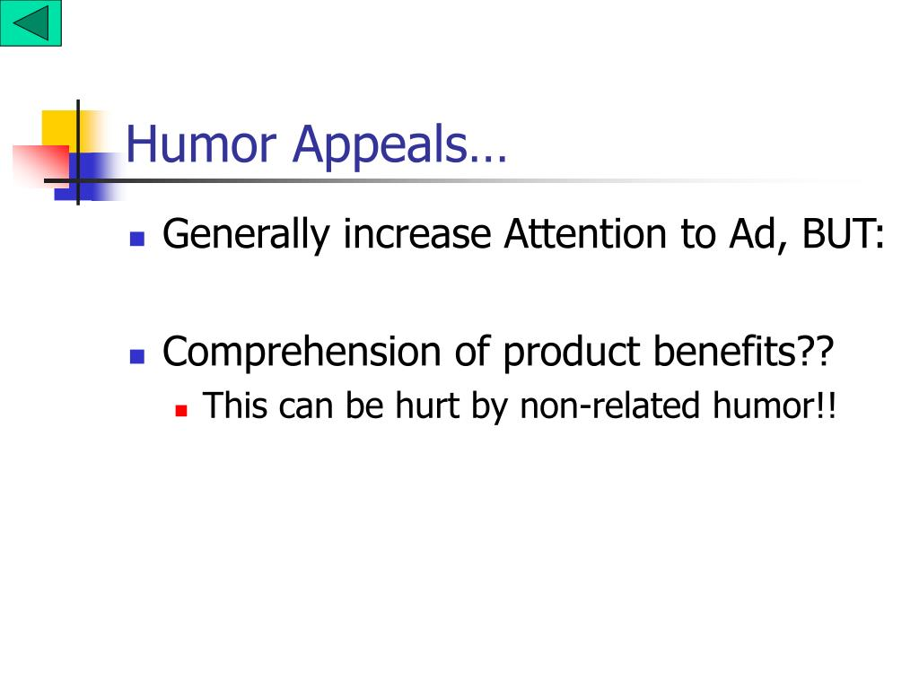 Humor Appeals…