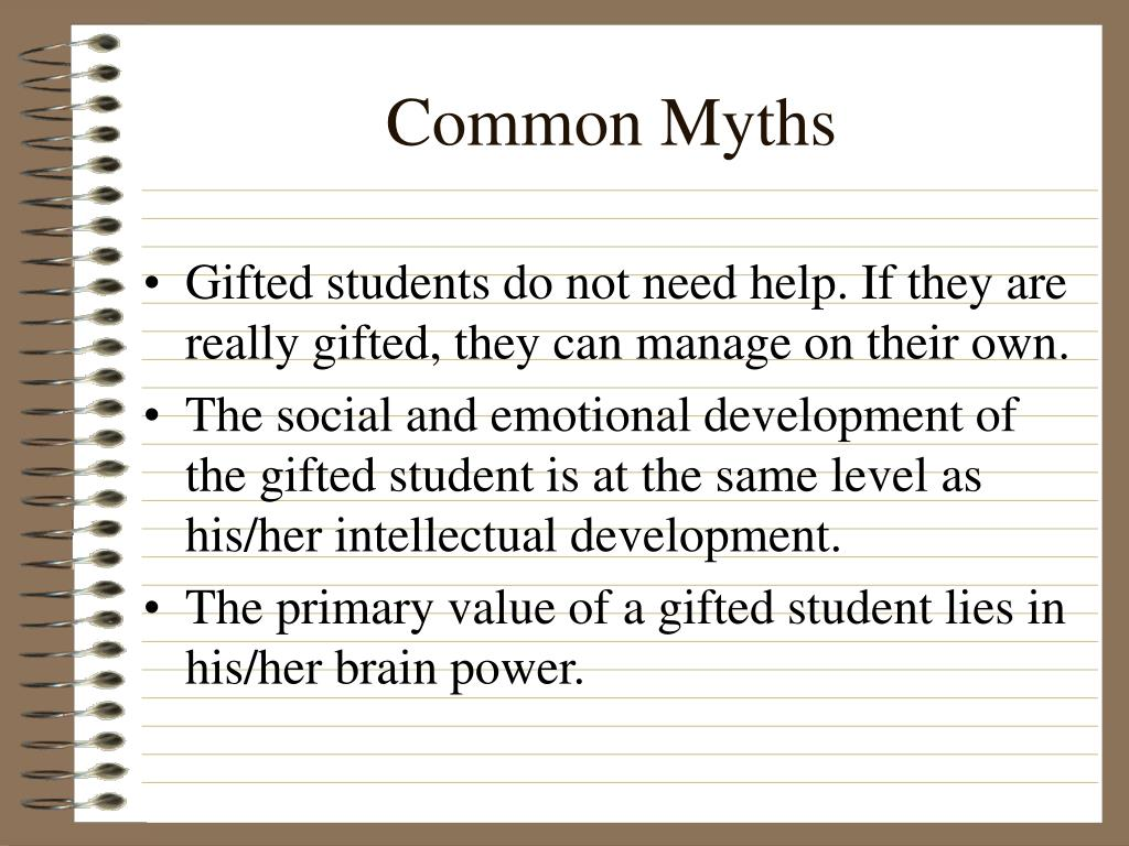 Common Myths