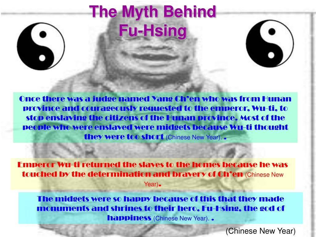 The Myth Behind Fu-Hsing