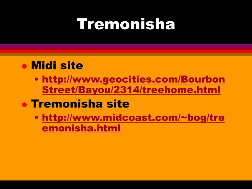 Tremonisha