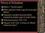 shona of zimbabwe