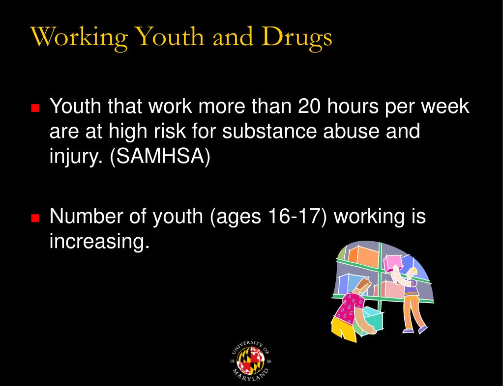 Working Youth and Drugs