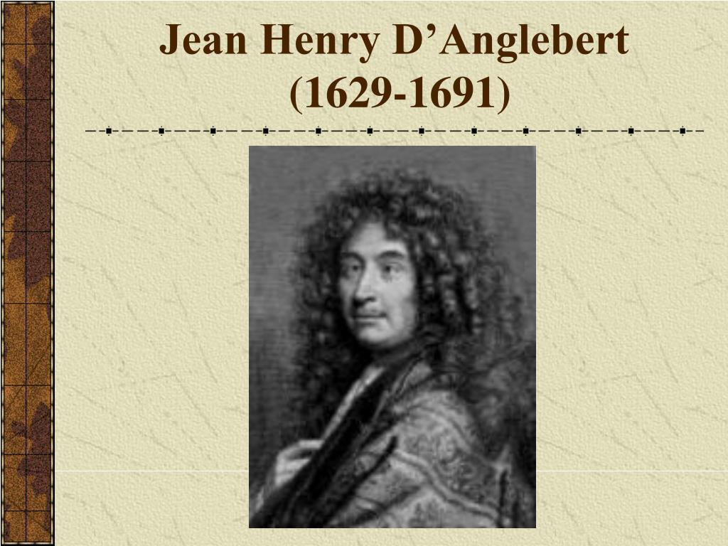 Jean Henry D'Anglebert