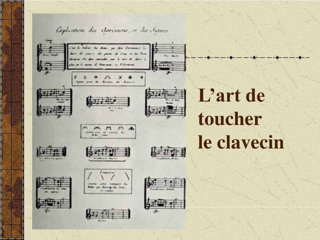 L'art de toucher