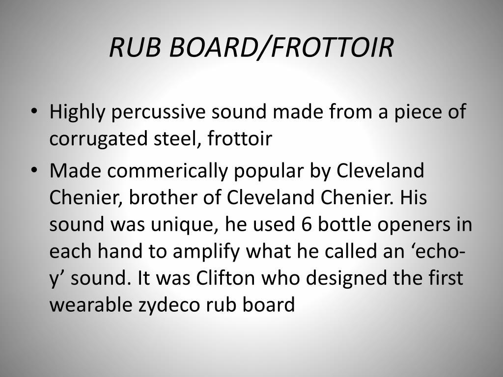 RUB BOARD/FROTTOIR