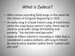 what is zydeco