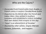 who are the cajuns
