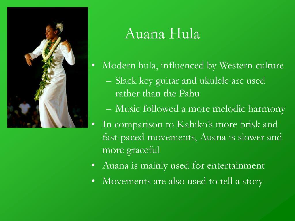 Auana Hula