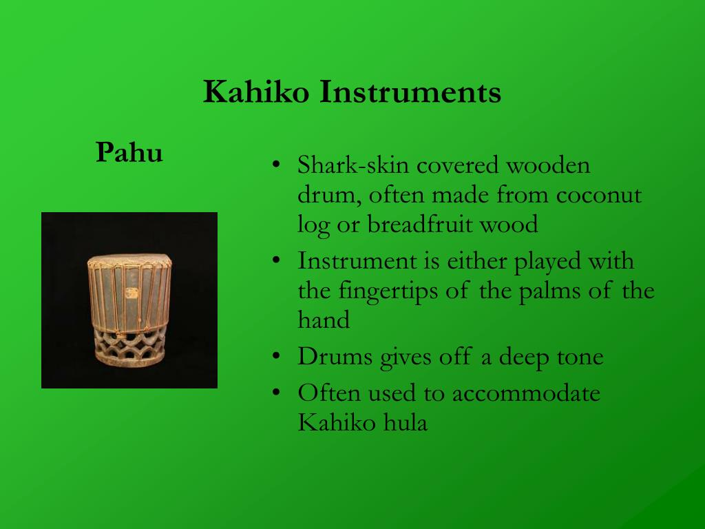Kahiko Instruments