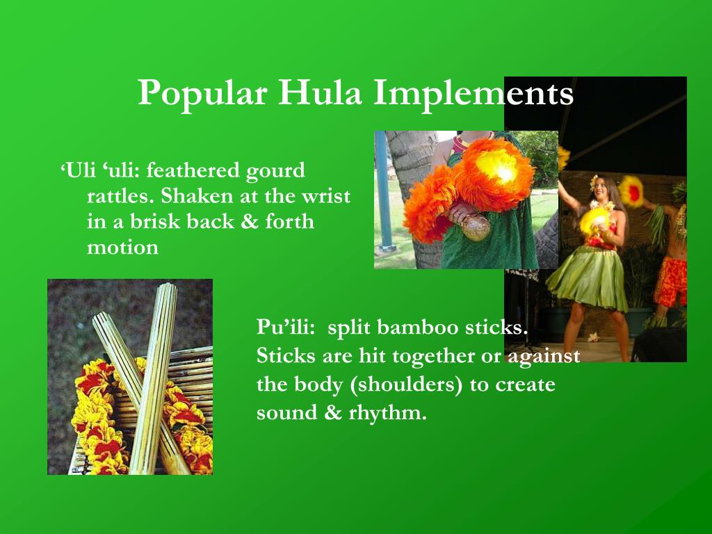 Popular Hula Implements