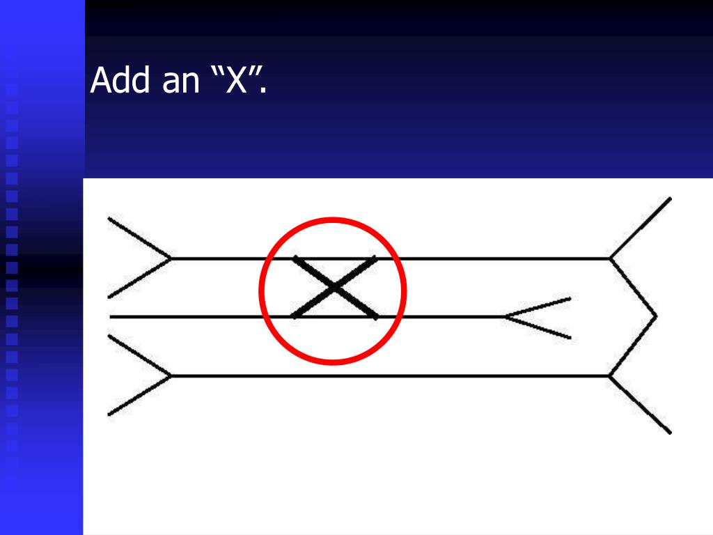 """Add an """"X""""."""